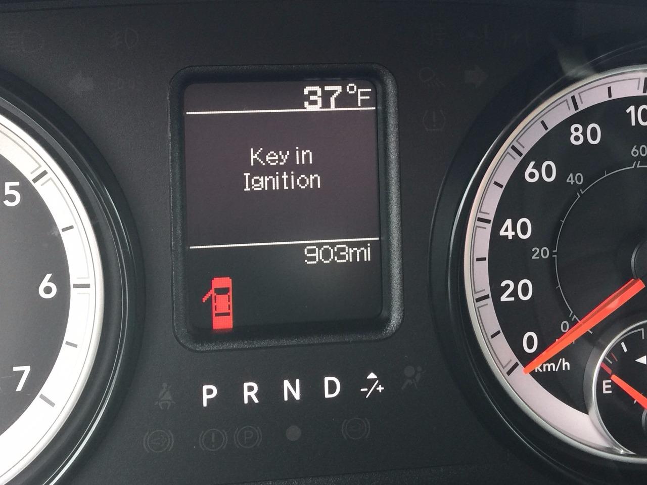 Dodge Ram Dash Black on Auto Remote Starter
