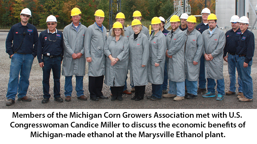 Marysville Ethanol Tour with Congresswoman Miller