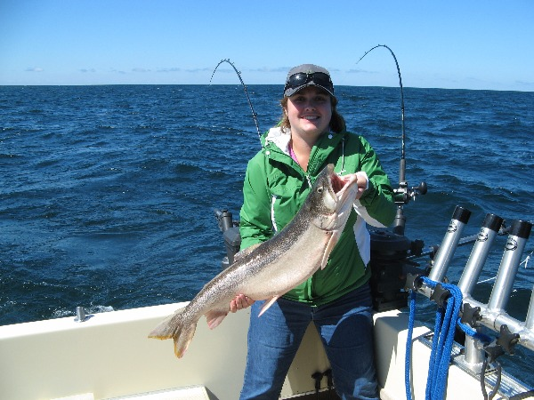 Lake trout limit includes two lunkers pushing over 30 for Fish at 30 lake