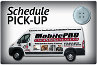 MobilePRO Cleaners Provides FREE Pickup and Delivery