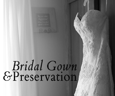 Bridal gown cleaning preservation dry cleaning for Wedding dress cleaning and preservation
