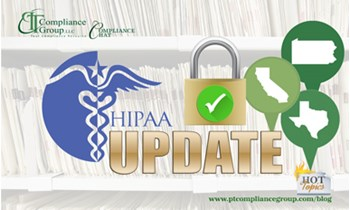 HIPAA Update - States PT Compliance Group