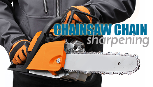 Saw Sharpening Service : Chainsaw chain sharpening services