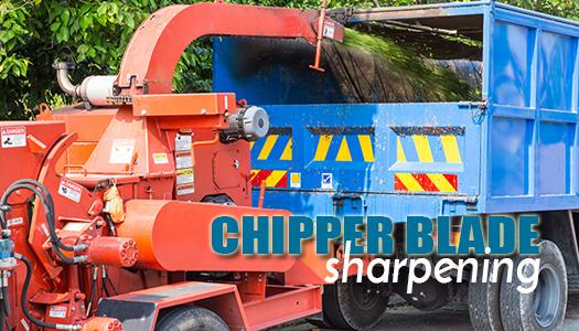 Chipper Blade Sharpening
