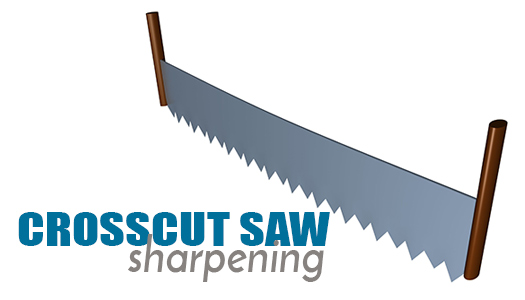 Saw Sharpening Service : Crosscut saw sharpening services
