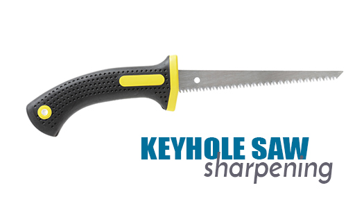 Saw Sharpening Service : Keyhole saw sharpening services