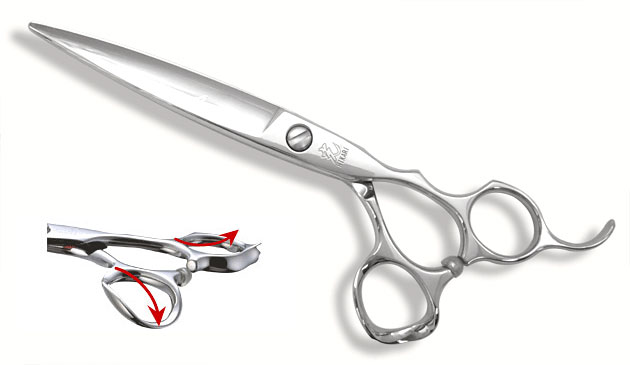 Hikari ARC 168 Dry and Wet Cut Scissors