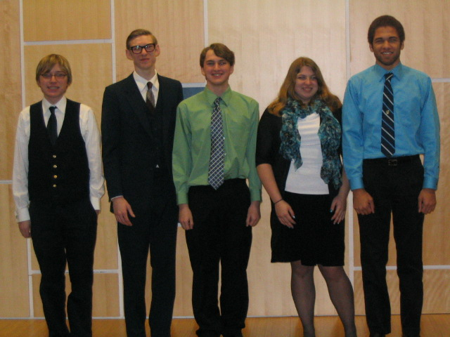 Poetry Out Loud Participants (2013)