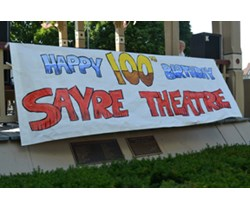 Sayre Theatre 100th Birthday