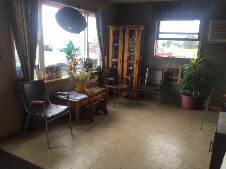 Relax in Beller's Auto Waiting Room