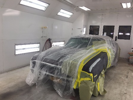 72 Chevelle prepped for custom paint