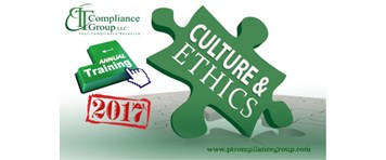 Annual Training Culture and Ethics 2017