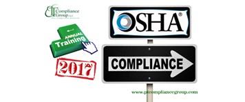 Annual Training OSHA Compliance 2017