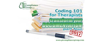 Transform Your Documentation 2017, Part 4: Coding 101 for Therapists