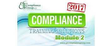 2017 Compliance Training Solutions - Module 2