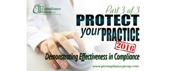 Protect Your Practice 2016 Part 3