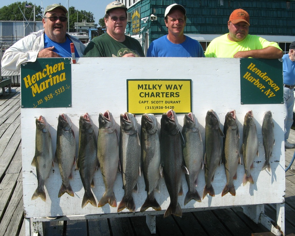 Henderson Harbor Fishing with Milky Way Charters - Day 1 - Limited Out on Lake Trout