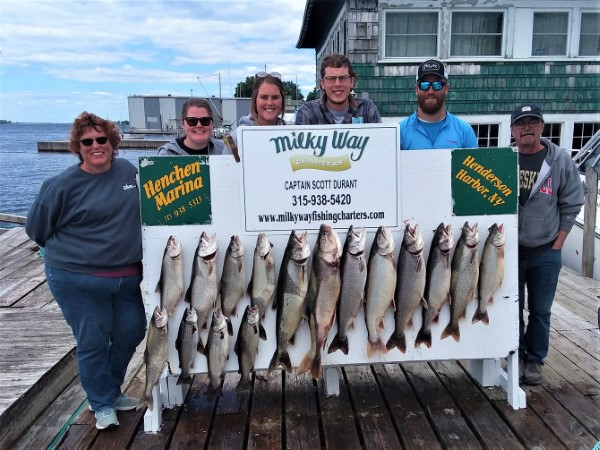Lake Trout Limit Along With 3 Browns for the Cobb Family