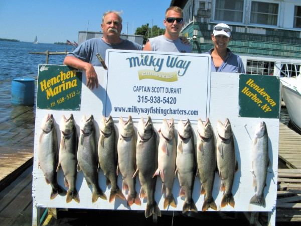 Lake Trout Limit & Steelhead for Piercy Party!