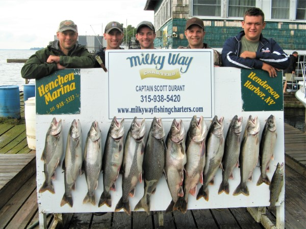 Lake Trout Limit for Ben Pate Party!