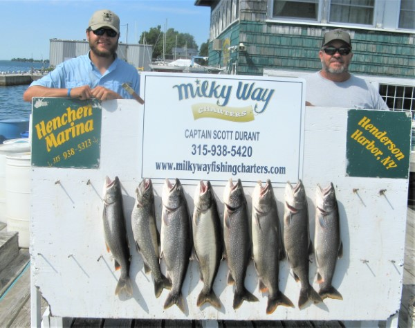 Lake Trout Limit for Zach and Tony!