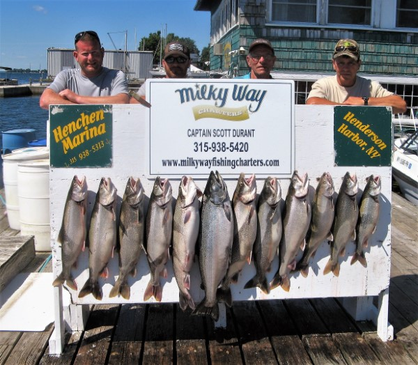 Limit of Lakers & 1 Mature King for the Campany Trip!