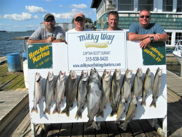 The Marc Albano Party With Lake Trout Limit, Big King & 2 Browns!