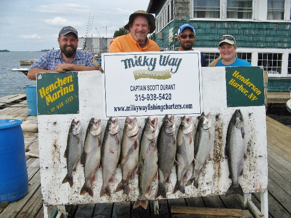 The Steve Chuta Party With Lake Trout Limit & 1 King!