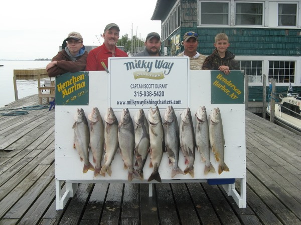 The Beau Zanker Party with Lake Trout Limit!
