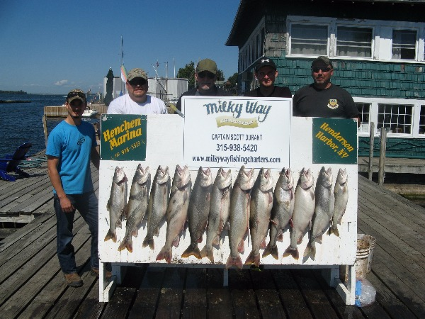 Ben Roggie Party With Limit of Lake Trout!