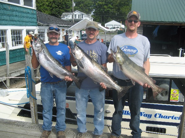 Bob, Rick & Mike Holding Their Kings!