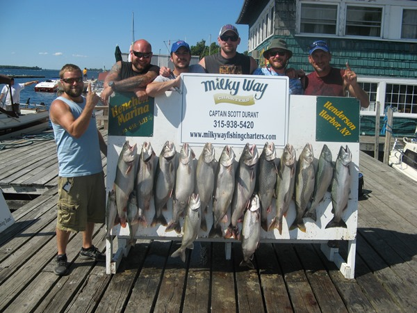 The Dave Liscum Party with Lake Trout Limit & Two Kings!