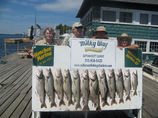 Lake Trout Limit for Doug Fralick Party!