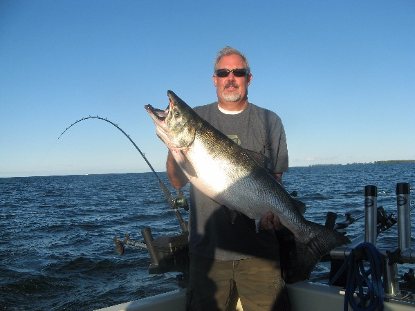 Nigel Holding a Big King Salmon!