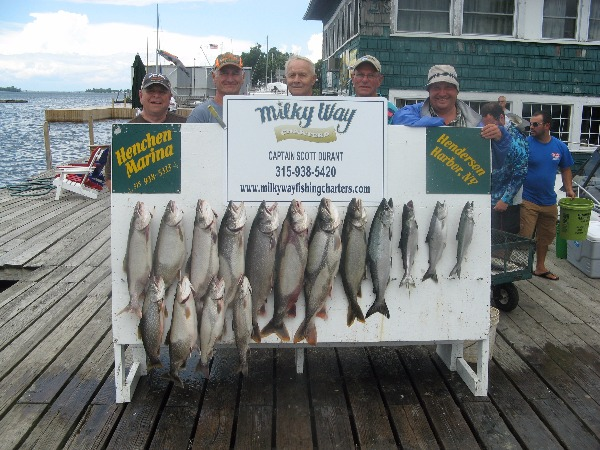 The Bob Zehr Party With Lake Trout Limit