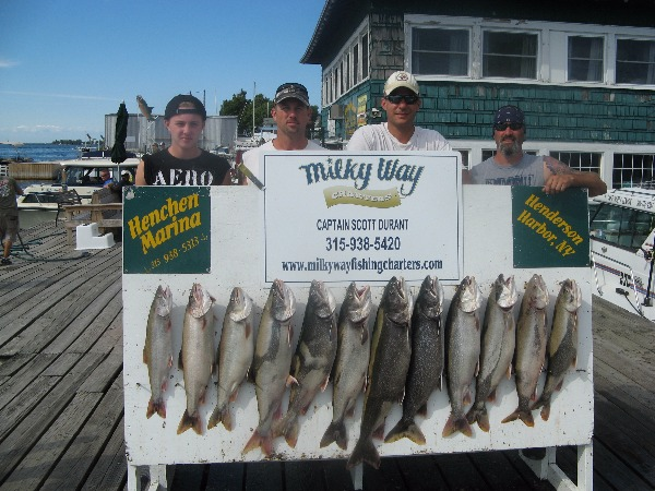 The Jeff Koons Party & Their Lake Trout Limit!