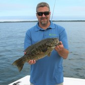 Mike Displaying a Lunker Bass!