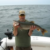 Roger Holding a Nice Lake Trout!