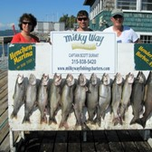 The Bill Thomas Party With Lake Trout Limit & 2 Kings!