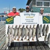 The Rivers Party With 10 Lake Trout, 2 Kings & 4 Browns!