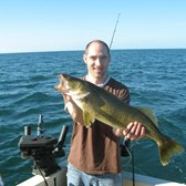 Henderson Harbor Fishing with Milky Way Charters - Another beauty Eye!