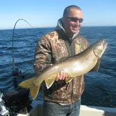 John with lunker Laker!