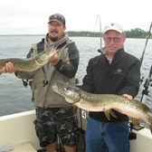 Henderson Harbor Fishing with Milky Way Charters - Two nice Northern Pike
