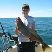 Henderson Harbor Fishing with Milky Way Charters - 1st ever Lake Trout!