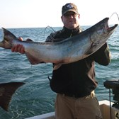 Henderson Harbor Fishing with Milky Way Charters - Wow! Another big catch on the Milky Way!