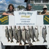 A Lake Trout Limit & 1 King for the Lyle Hotis Party!