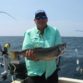 Alan Displaying Nice Lake Trout!