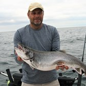 Brian Displaying a Big Lake Trout!