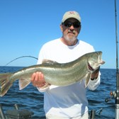 Gary Displaying Lunker Laker!