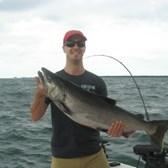 Justin With His 22 Pound Salmon!